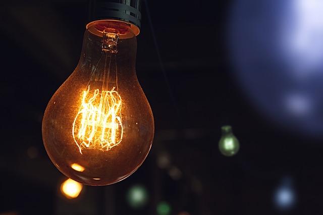 proud žárovky