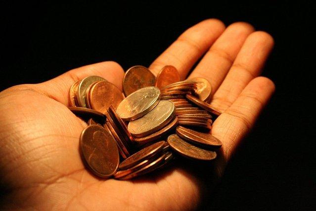 mince v ruce