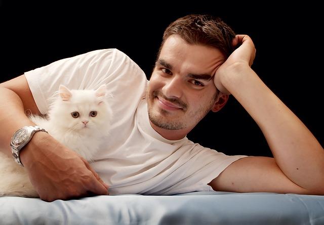 relaxace s kočkou
