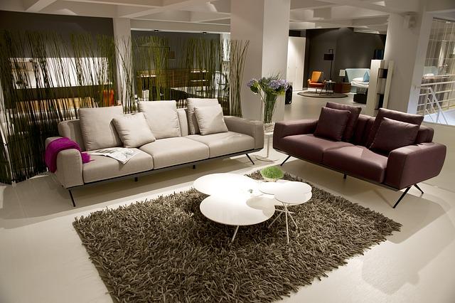 dekorativní koberečky