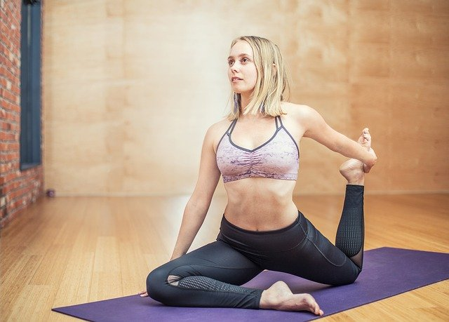 žena a joga