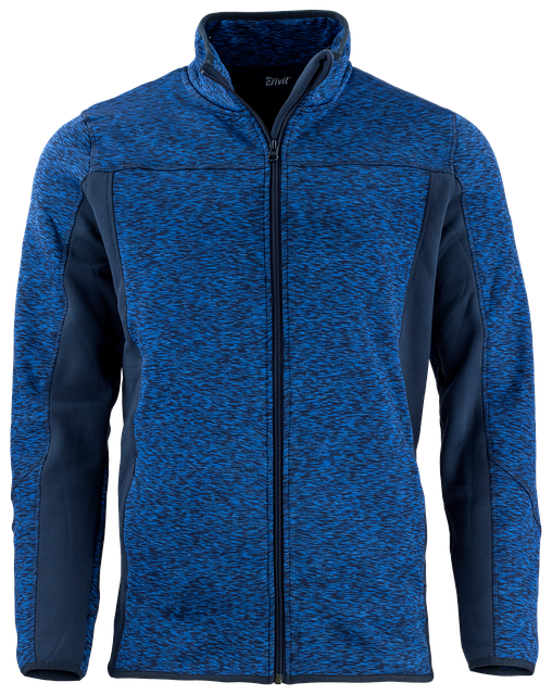 modrá mikina