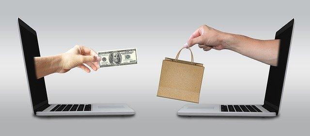nákup provedený po internetu
